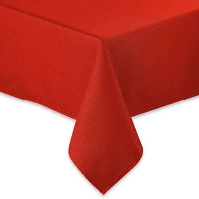 Fiesta® Zig Zag 52-Inch x 70-Inch Oblong Tablecloth in Scarlet