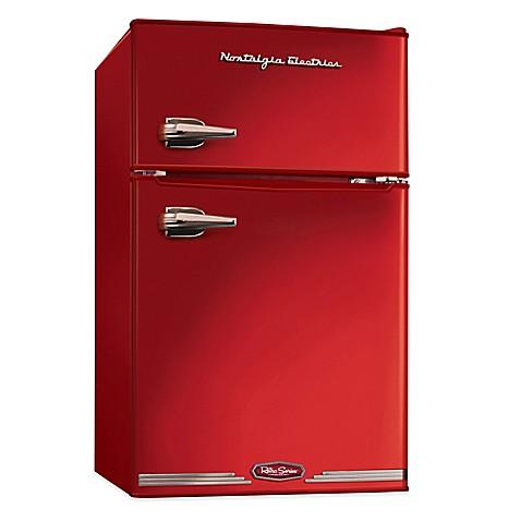 Buy Nostalgia Electrics Compact Refrigerator And Freezer