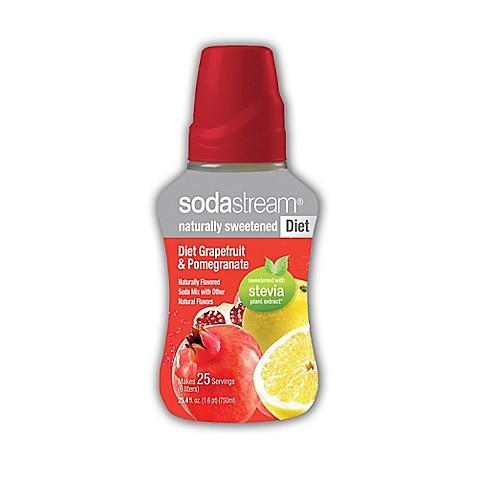 Buy SodaStream® Diet Grapefruit and Pomegranate Sparkling ...