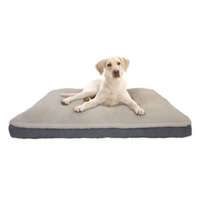 Ortho Mattress 40-Inch x 30-Inch Pet Bed in Charcoal
