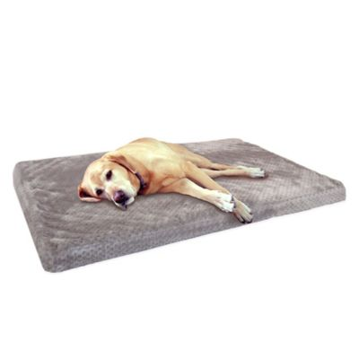 Ortho 35-Inch x 22-Inch Pet Crate Mat in Grey