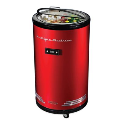 Nostalgia Electrics™ 60-Can Party Cooler Refrigerator in Red
