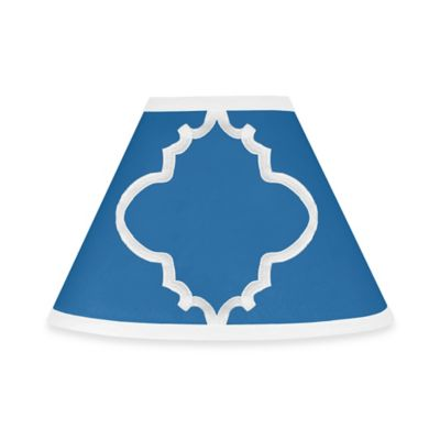 Sweet Jojo Designs Trellis Lamp Shade in Blue
