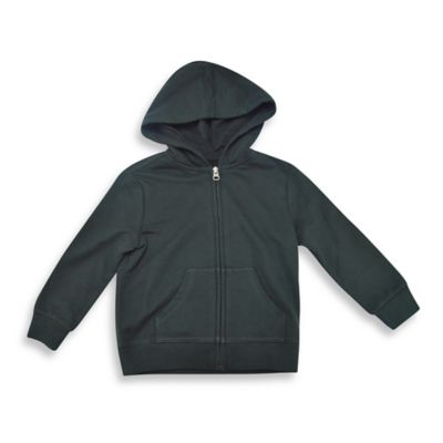 Charlie Rocket™ Size 3T Raglan French Terry Hoodie in Black