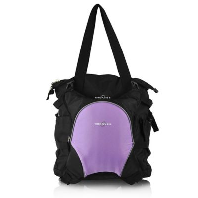 Black/Purple Diaper Bags