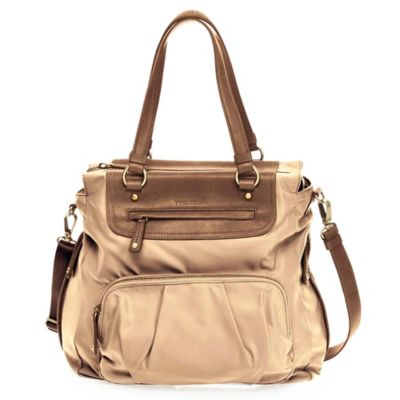 TWELVElittle Allure Tote Diaper Bag in Beige
