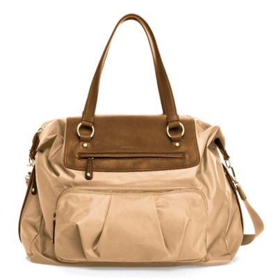 TWELVElittle Allure Weekender Diaper Bag in Beige