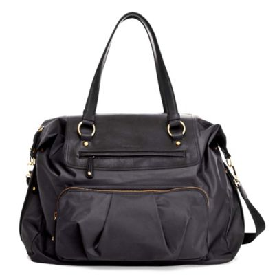 TWELVElittle Allure Weekender Diaper Bag in Black