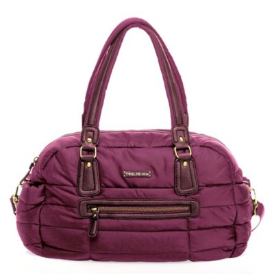 TWELVElittle Companion Satchel Diaper Bag in Plum