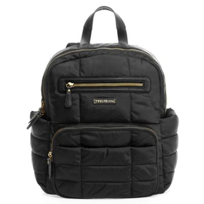 TWELVElittle Companion Backpack Diaper Bag in Black