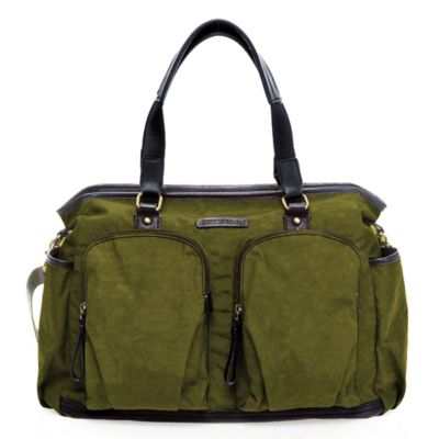 TWELVElittle Unisex Courage Tote in Olive