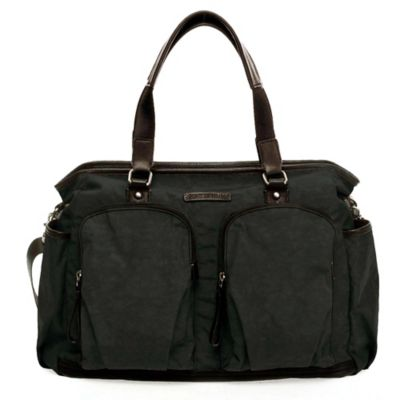 TWELVElittle Unisex Courage Tote in Black