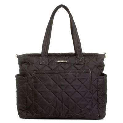 TWELVElittle Carry Love Tote in Black