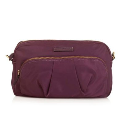 TWELVElittle Wonder Crossbody Clutch in Plum