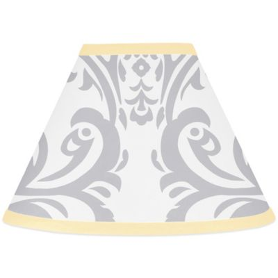 Sweet Jojo Designs Avery Lamp Shade in Yellow/Grey