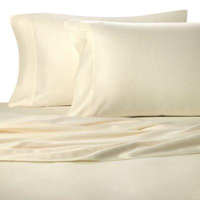 Pure Beech® 100% Modal Flannel King Sheet Set in Ivory