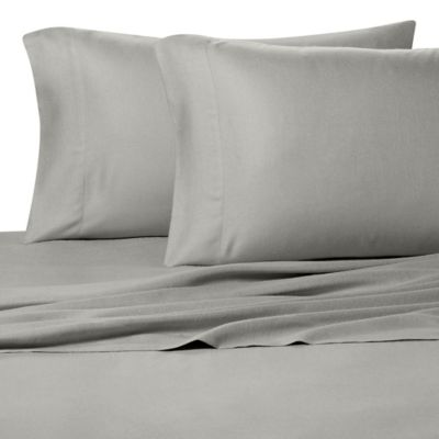Pure Beech® 100% Modal Flannel King Sheet Set in Grey