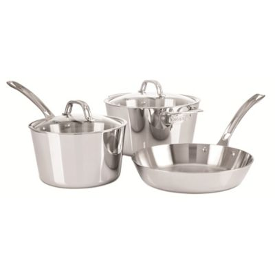 Viking® Contemporary Stainless Steel 5-Piece Cookware Set