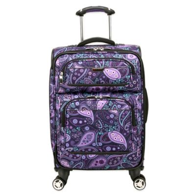 Ricardo Beverly Hills Mar Vista 20-Inch 4-Wheel Expandable Wheelaboard™ Spinner in Purple Paisley