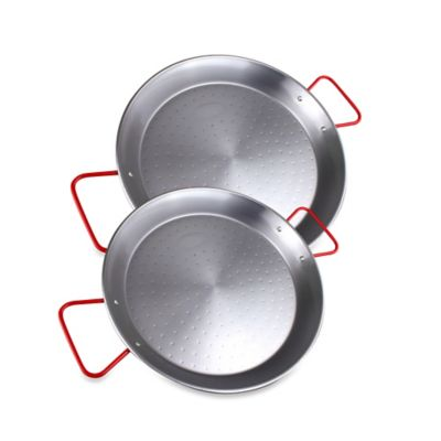 15-Inch Carbon Steel Paella Pan