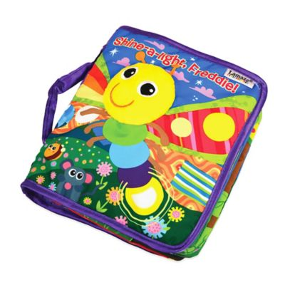 "Lamaze® ""Shine-a-Light, Freddie!"" Peek-a-Boo Soft Book"