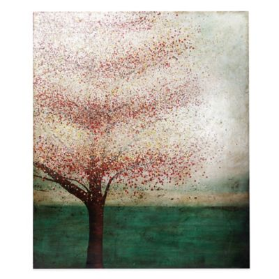 Colorful Dot Tree Canvas Wall Art