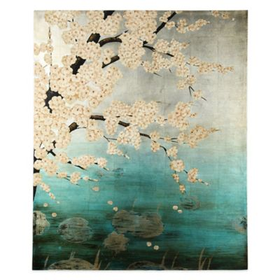 Plum Blossom Canvas Wall Art
