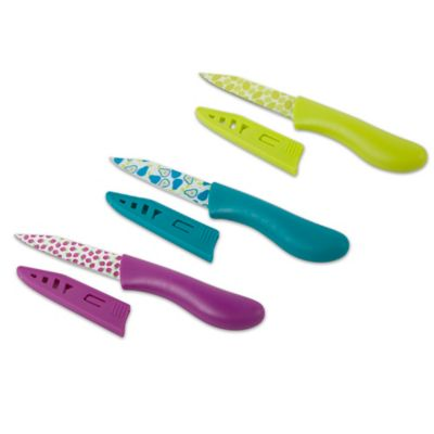 Core Bamboo™ 3-Piece Fruit Paring Knife Set