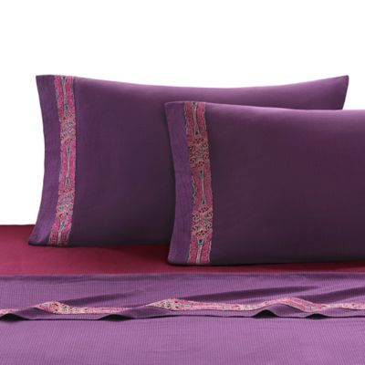 Natori La Pagode Queen Fitted Sheet