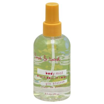 Love & Toast 6 oz. Body Mist in Gin Blossom