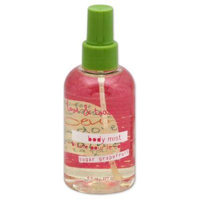 Love and Toast 6 oz. Mist Spray in Sugar Grapefruit