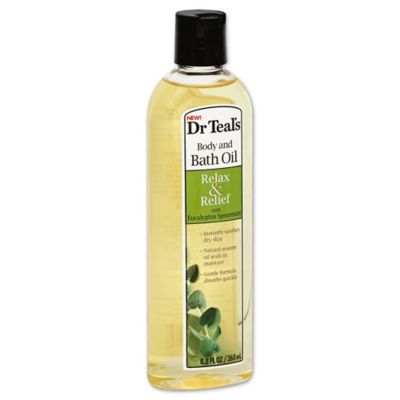 Dr. Teal's® 8.8 oz. Relax & Relief Body and Bath Oil in Eucalyptus Spearmint