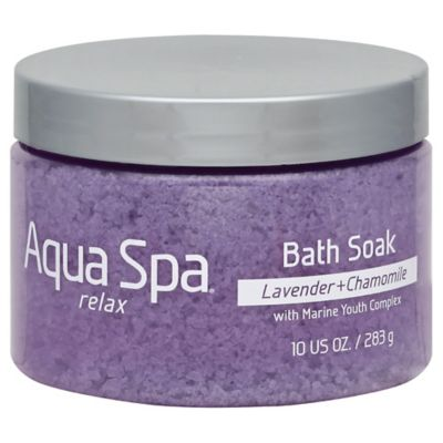 Aqua Spa® 10 oz. Relax Bath Soak in Lavender and Chamomile