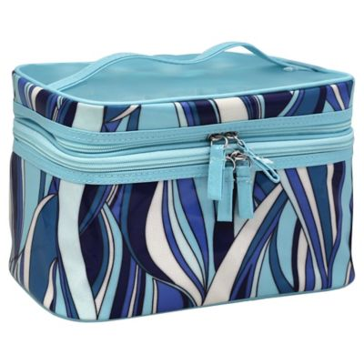 Modella Train Case in Winter Wave