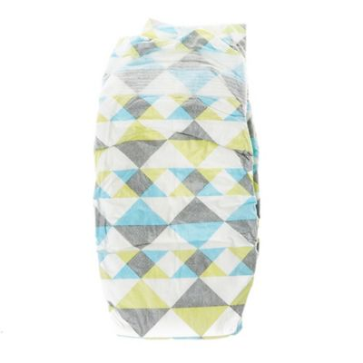 Honest 34-Pack Size 3 Diapers in Geo Tribal Pattern