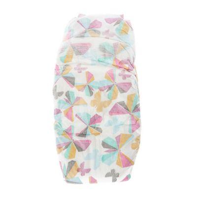 Honest 40-Pack Newborn Diapers in Butterflies Pattern