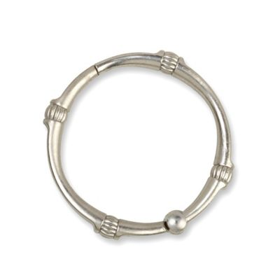 TITAN NeverRust™ Madison Brushed Nickel Shower Rings
