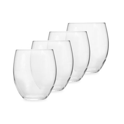 Luigi Bormioli Allegro Stemless Glasses (Set of 4)