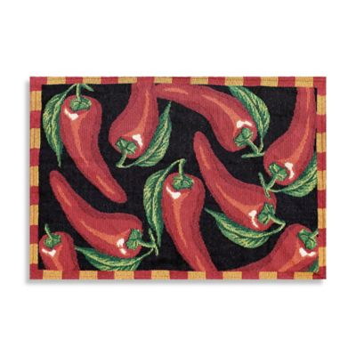 Southwest Photo-Real Tapestry Peppers Placemat