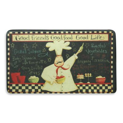 Bacova Good Life 20-Inch x 34-Inch Memory Foam Mat