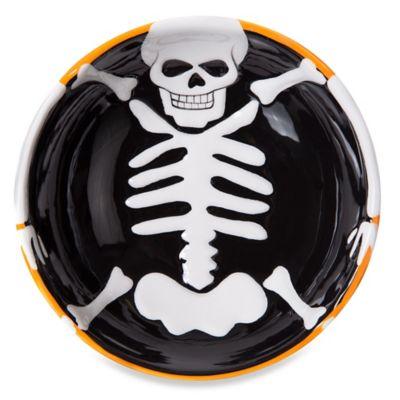 Ceramic Skeleton Bowl