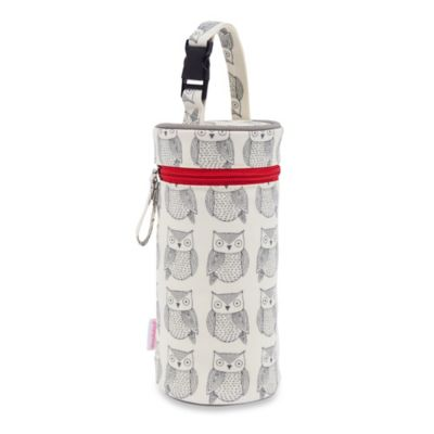 Pink Lining Wise Owl Bottle Holder