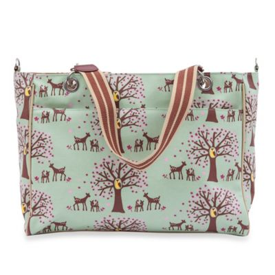 Pink Lining Bramley Woodland Diaper Tote