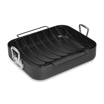 Denmark® Pro Nonstick Hard Anodized Turkey Roaster with U-Rack
