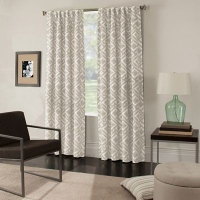 Colorado 63-Inch Window Curtain Panel in Navy