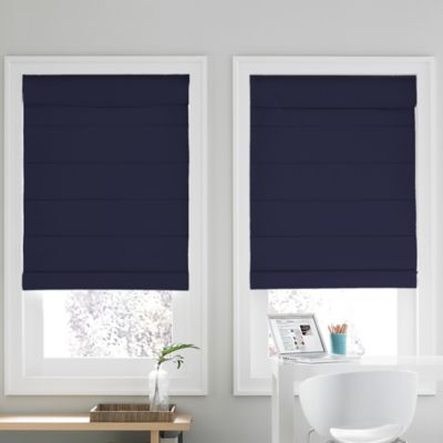Real Simple® Cordless Roman Cellular 37-Inch x 72-Inch Shade in Navy