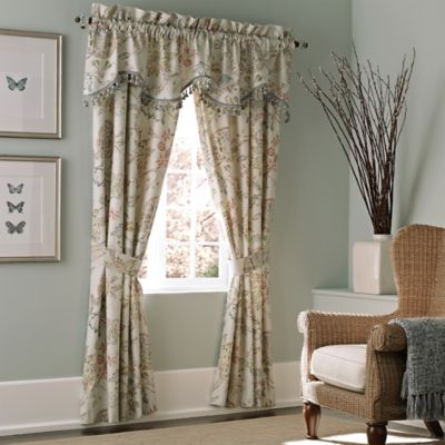 Croscill® Retreat Scalloped Window Valance