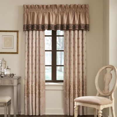 Waterford® Linens Aileen Tailored Window Valance