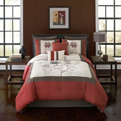 Chelsey 8-Piece Full Comforter Set