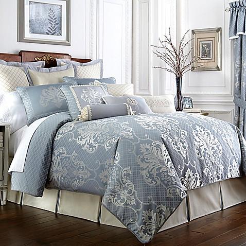 Waterford 174 Linens Newbridge Reversible Duvet Cover Bed
